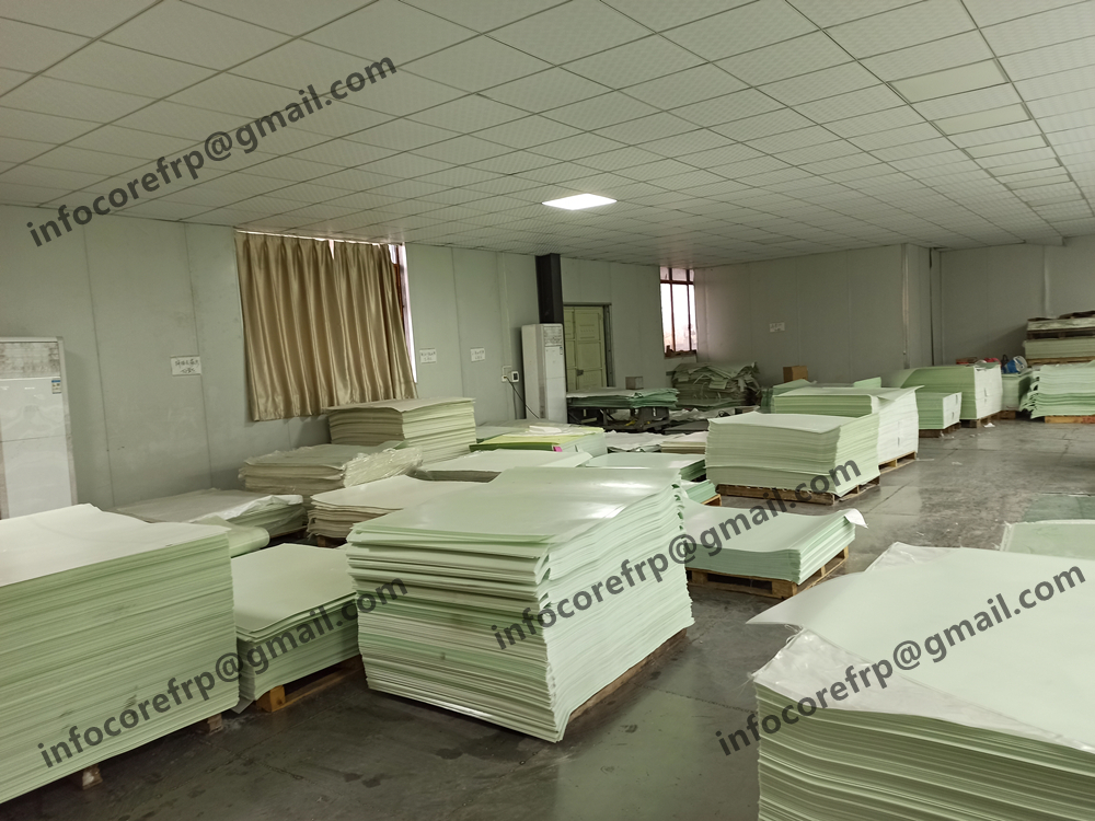 FR4 sheet and copper clad laminate warping